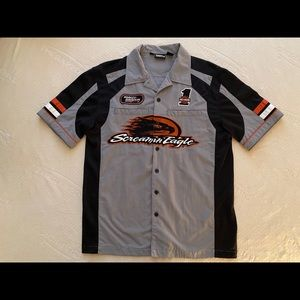 Harley-Davidson performance parts mechanic's shirt